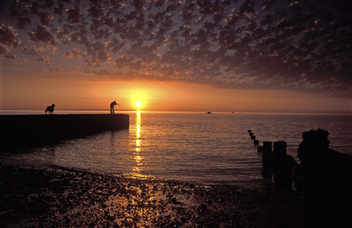 Sunset - Whitstable