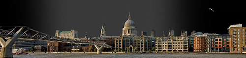 Thanes Panorama with St. Pauls