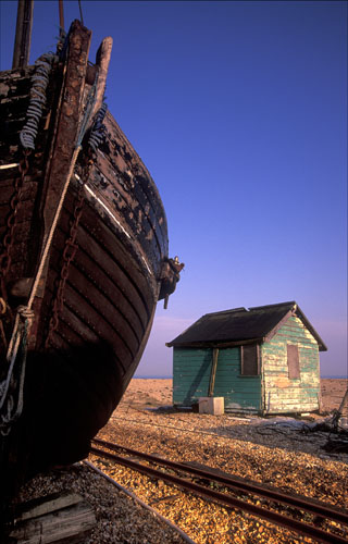 Boat Bow & Beach Hut